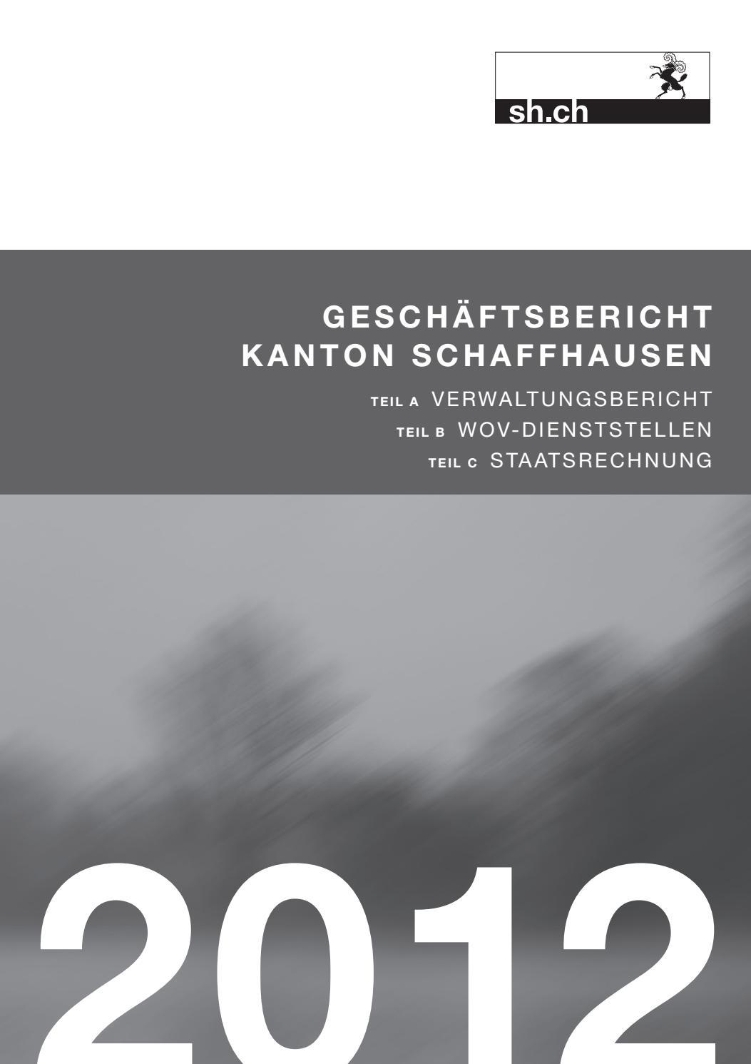 geschäftsbericht 2012 kanton schaffhausen by ksd sh issuu  die v partei%c2%b3 moechte ein zeichen setzen #13