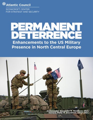 Wholl Be Iran War Buildups Judy Miller >> Permanent Deterrence By Atlantic Council Issuu