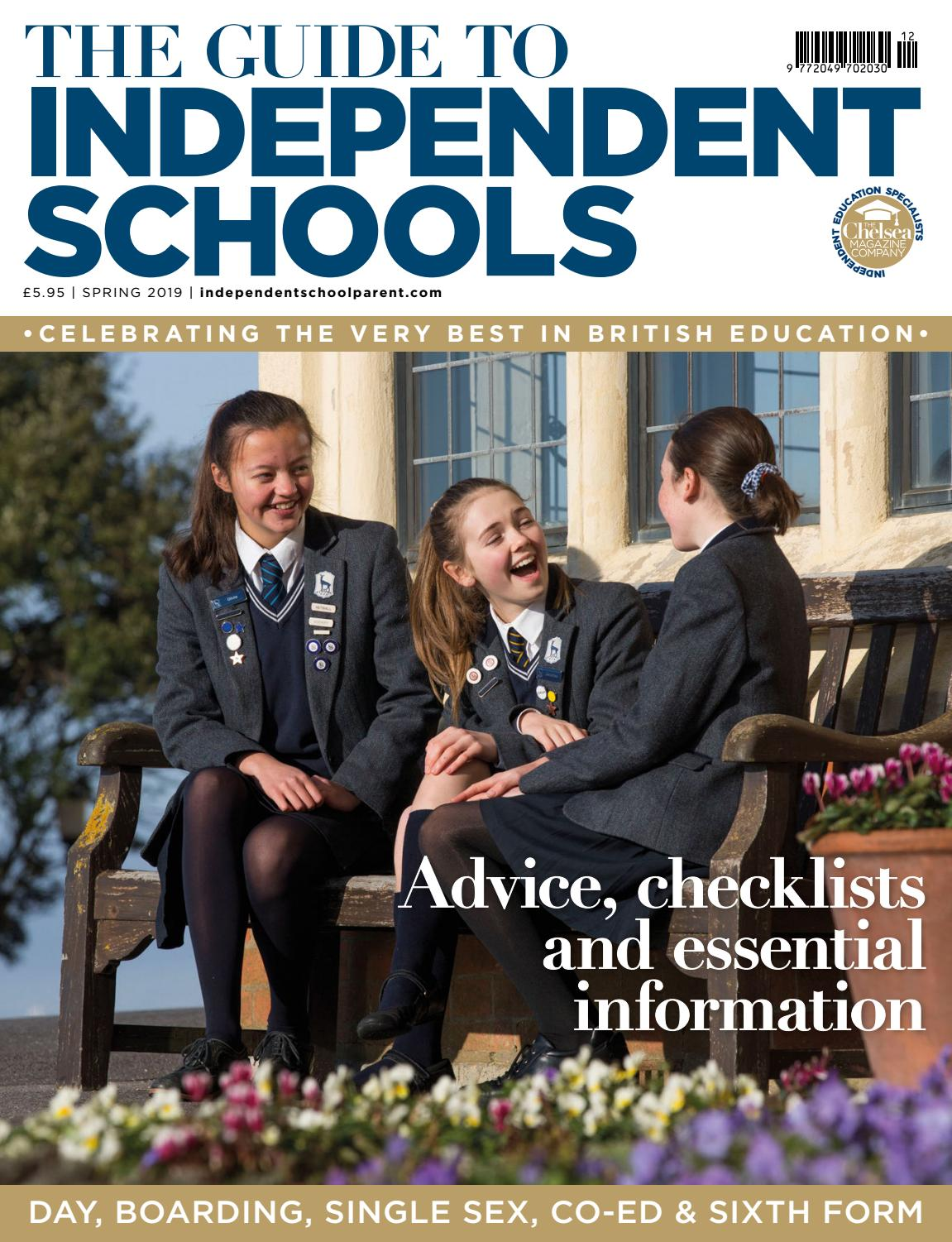 d5d454ff Independent School Parent - Spring Schools Guide 2019 by The Chelsea  Magazine Company - issuu