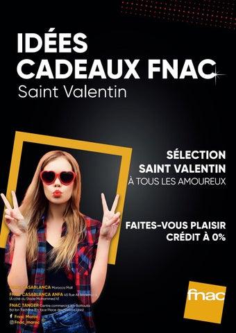 Idees Cadeaux Saint Valentin Fnac By Fnacmaroc Issuu
