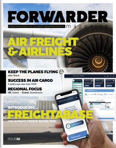 FORWARDER magazine issue 32, 'Air freight & Airlines' by Freight