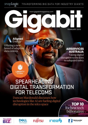 February issue of Gigabit Magazine Edition | GigaBit