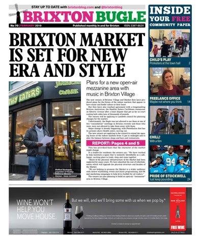 Brixton Bugle February 2019 by Brixton Bugle - issuu 3b0b653e143