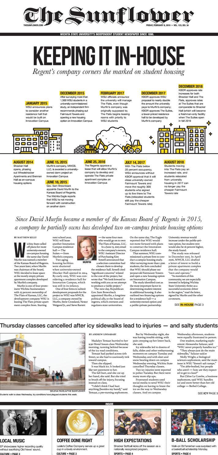 The Sunflower v 123 i 34 by The Sunflower Newspaper - issuu