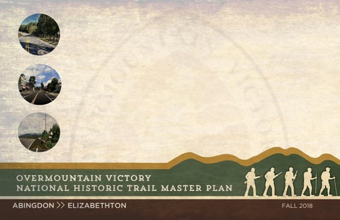 Overmountain Victory National Historic Trail Master Plan - Abingdon
