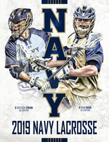 2019 Men s Lacrosse Guide by Naval Academy Athletic Association - issuu 5008d39a9