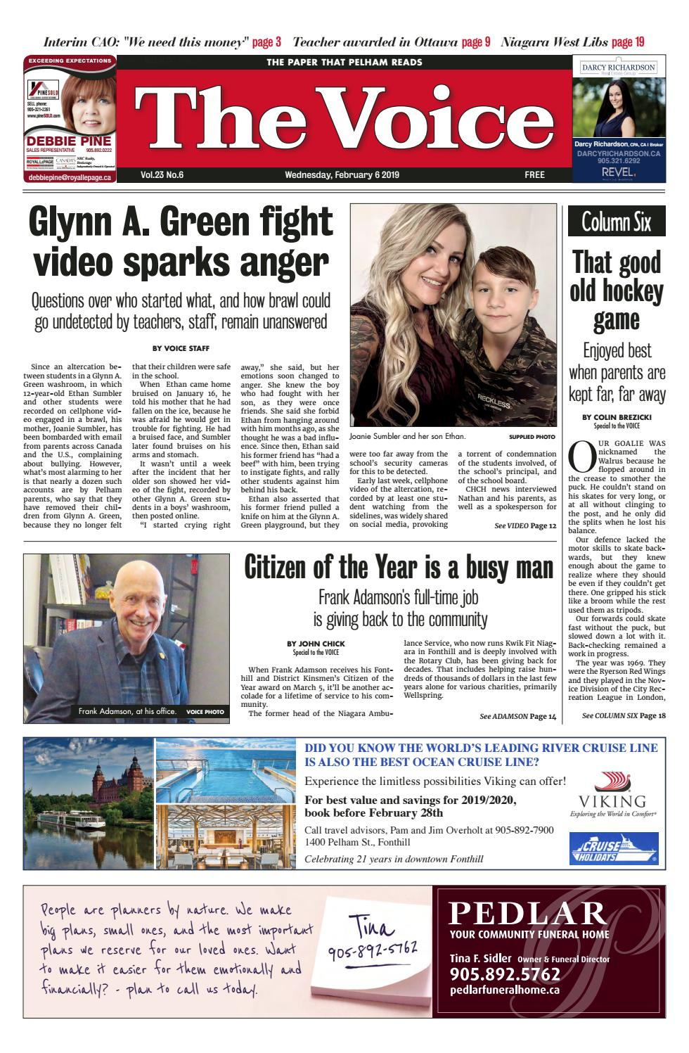 The Voice, February 6 2019 by The Voice of Pelham - issuu