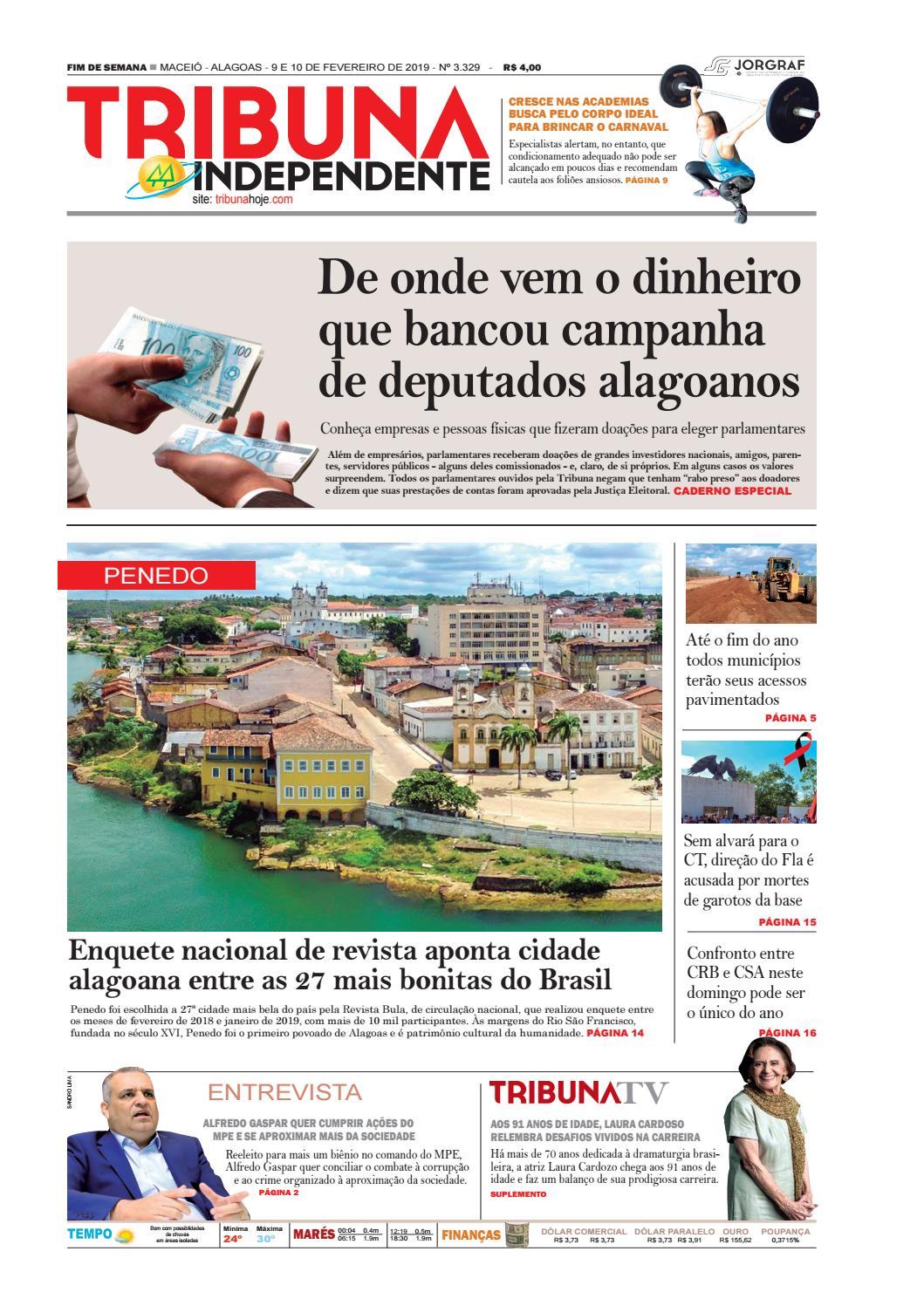 Edição número 3329 - 9 e 10 de fevereiro de 2019 by Tribuna Hoje - issuu f1746e83990bf