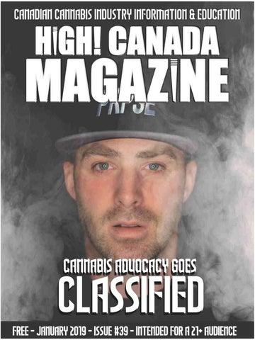 High! Canada Magazine Issue  39 - January 2019 fb5c0d4e0ce