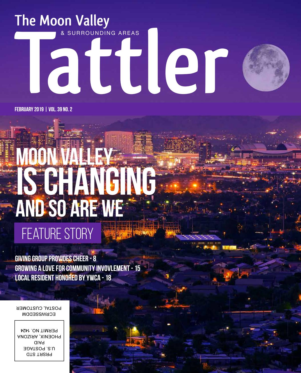 The New Moon Valley Tattler February 2019 By Moon Valley