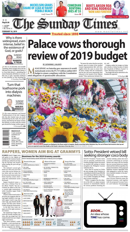 The Manila Times | February 10, 2019 by The Manila Times - issuu