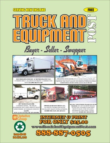 Truck And Equipment Post - Issue 08-09, 2019 by 1ClickAway