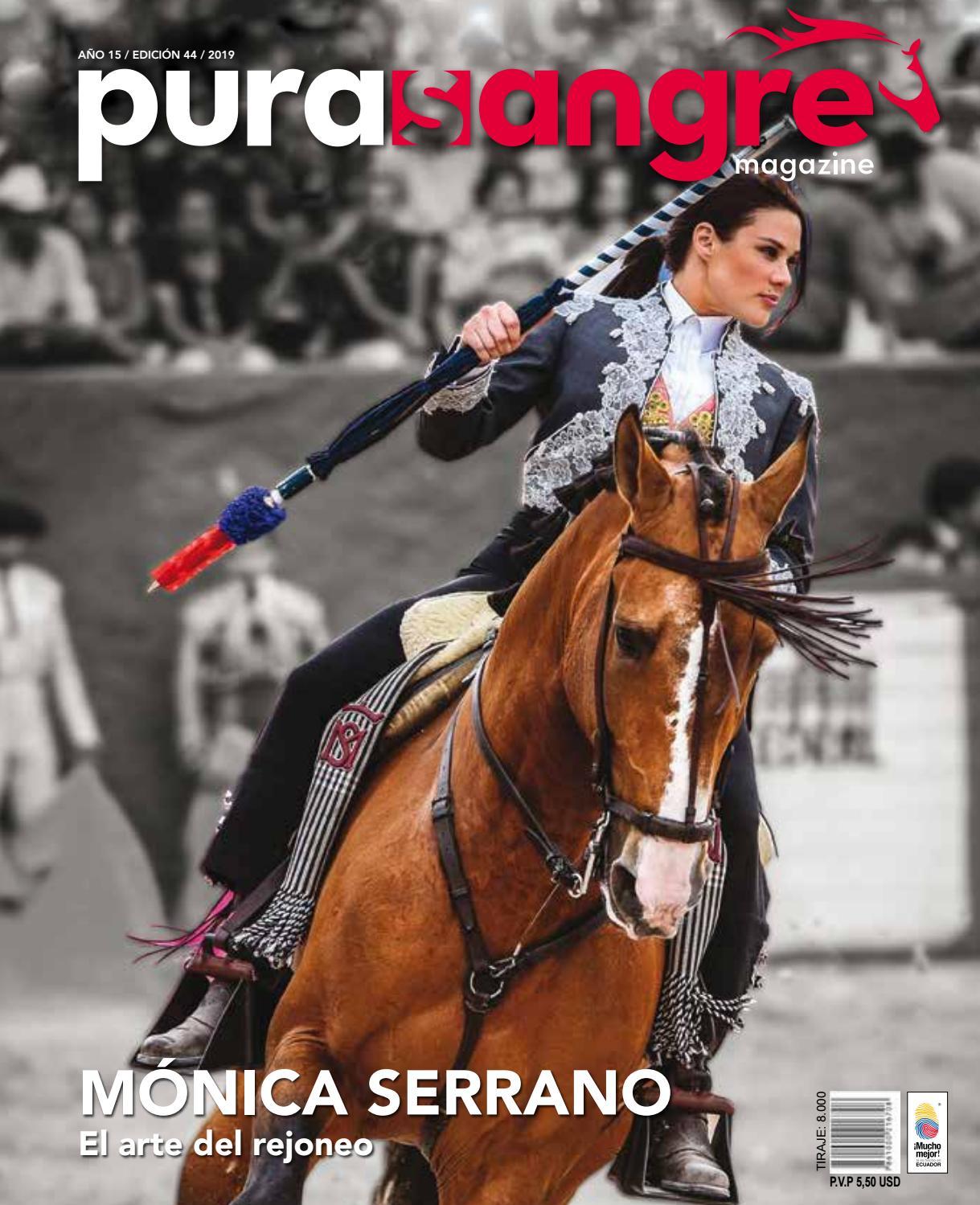 Pura Sangre Magazine Internacional Ed 44 by Paulina Zambrano - issuu 001d52fa72c
