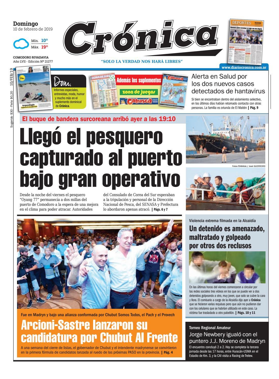 Diario cronica 10 02 2019 by Diario Crónica - issuu b1e255ebc072
