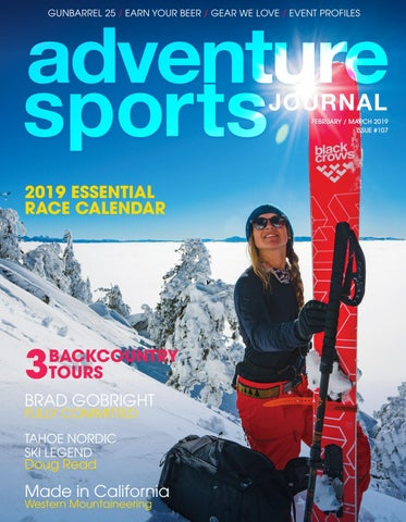 4f8a8a7080 Adventure Sports Journal // Feb/March 2019 // #107