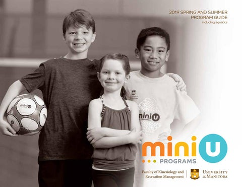 2019 Mini U Programs Spring & Summer Activity Guide by University of