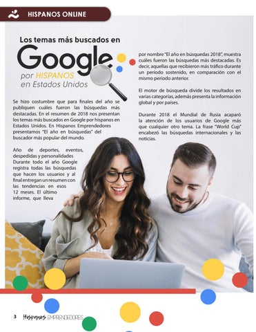 Page 4 of Hispanos Emprendedores octava edición
