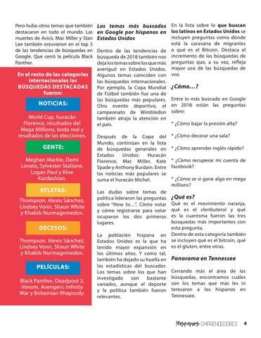 Page 5 of Hispanos Emprendedores octava edición
