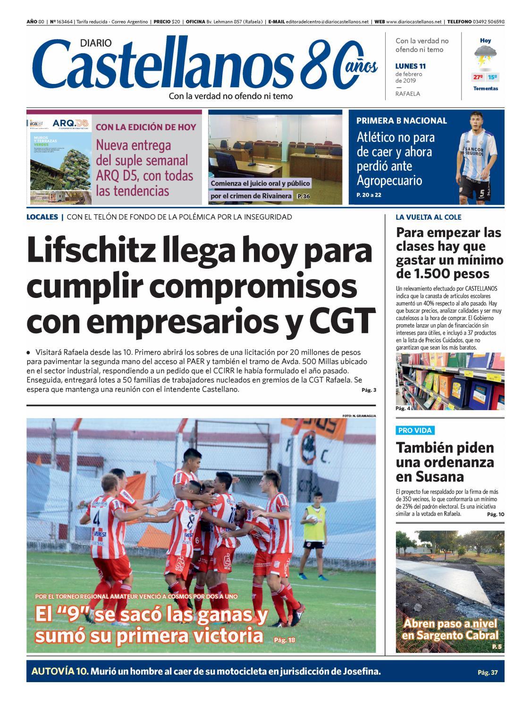 Diario Castellanos 11 02 19 by Diario Castellanos - issuu f3fd634542643