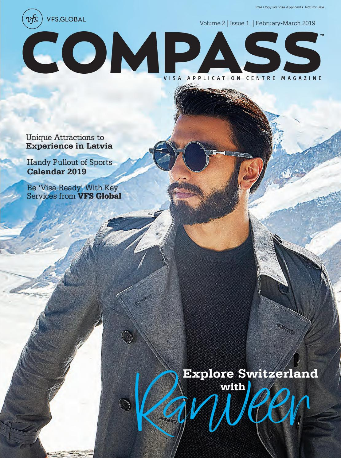 VFS Global COMPASS (India Edition) February - March 2019 by