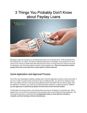 pay day personal loans no credit check needed