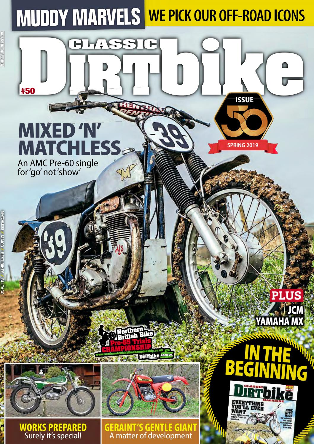 Classic Dirt Bike - Spring 2019 - Preview by Mortons Media