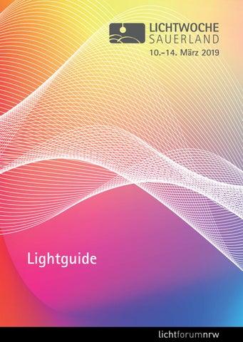 Lichtwoche Sauerland 2019 Lightguide By Lichtforum Nrw Issuu