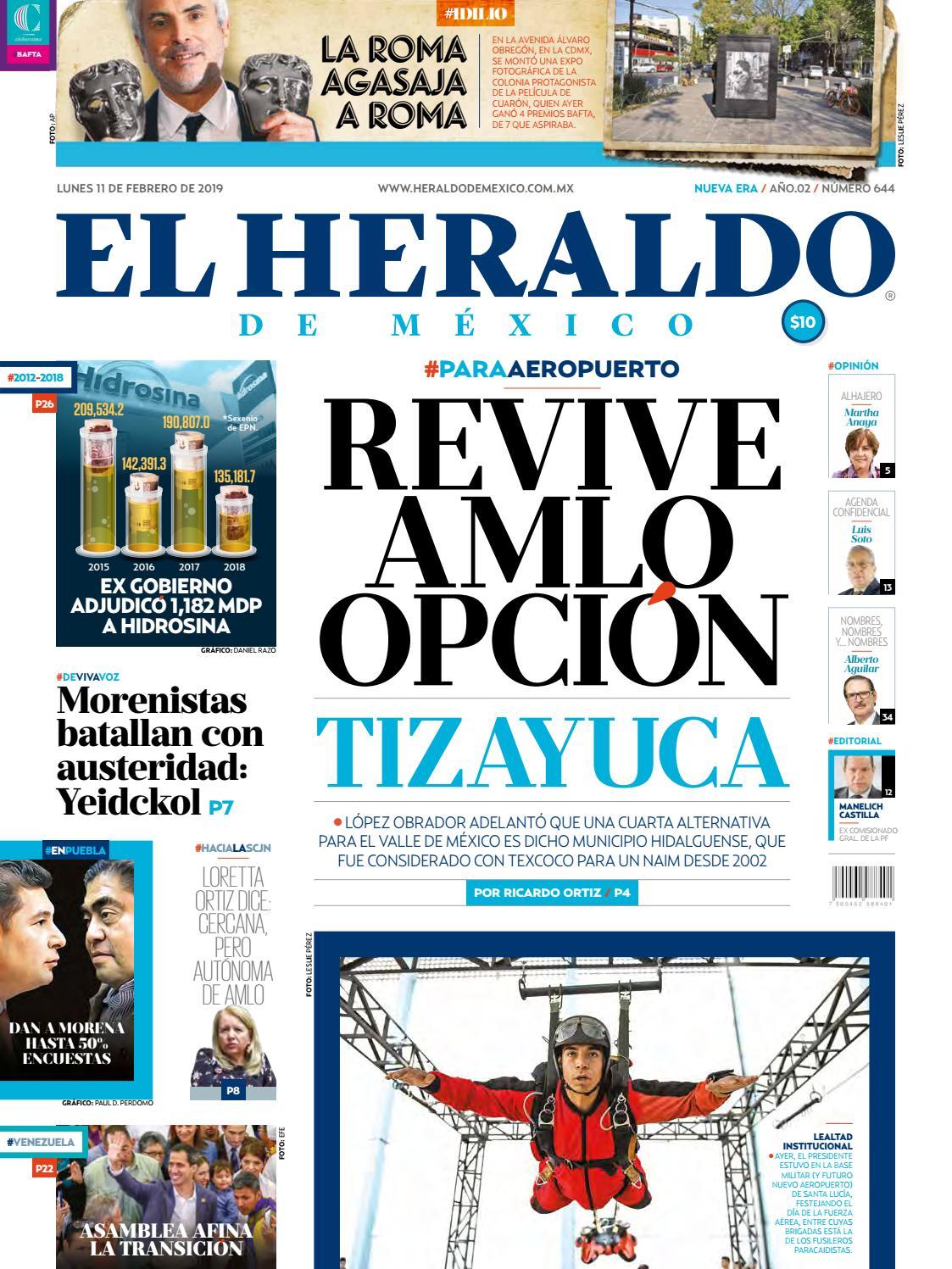 11 de febrero de 2019 by El Heraldo de México - issuu f51a6f3d2b2