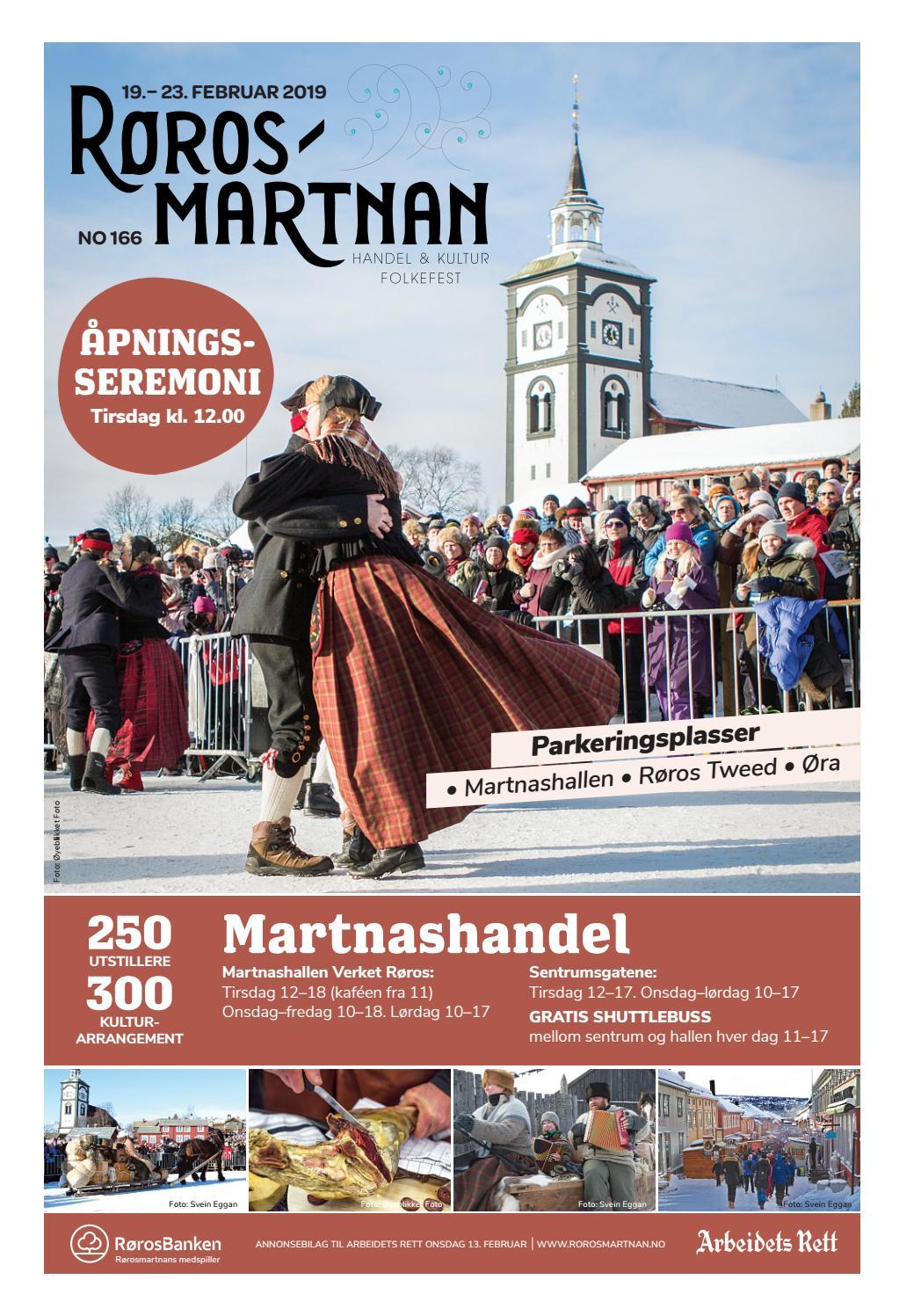 b0279f5d Rørosmartnan 2019 by Amedia Annonseproduksjon AS - issuu