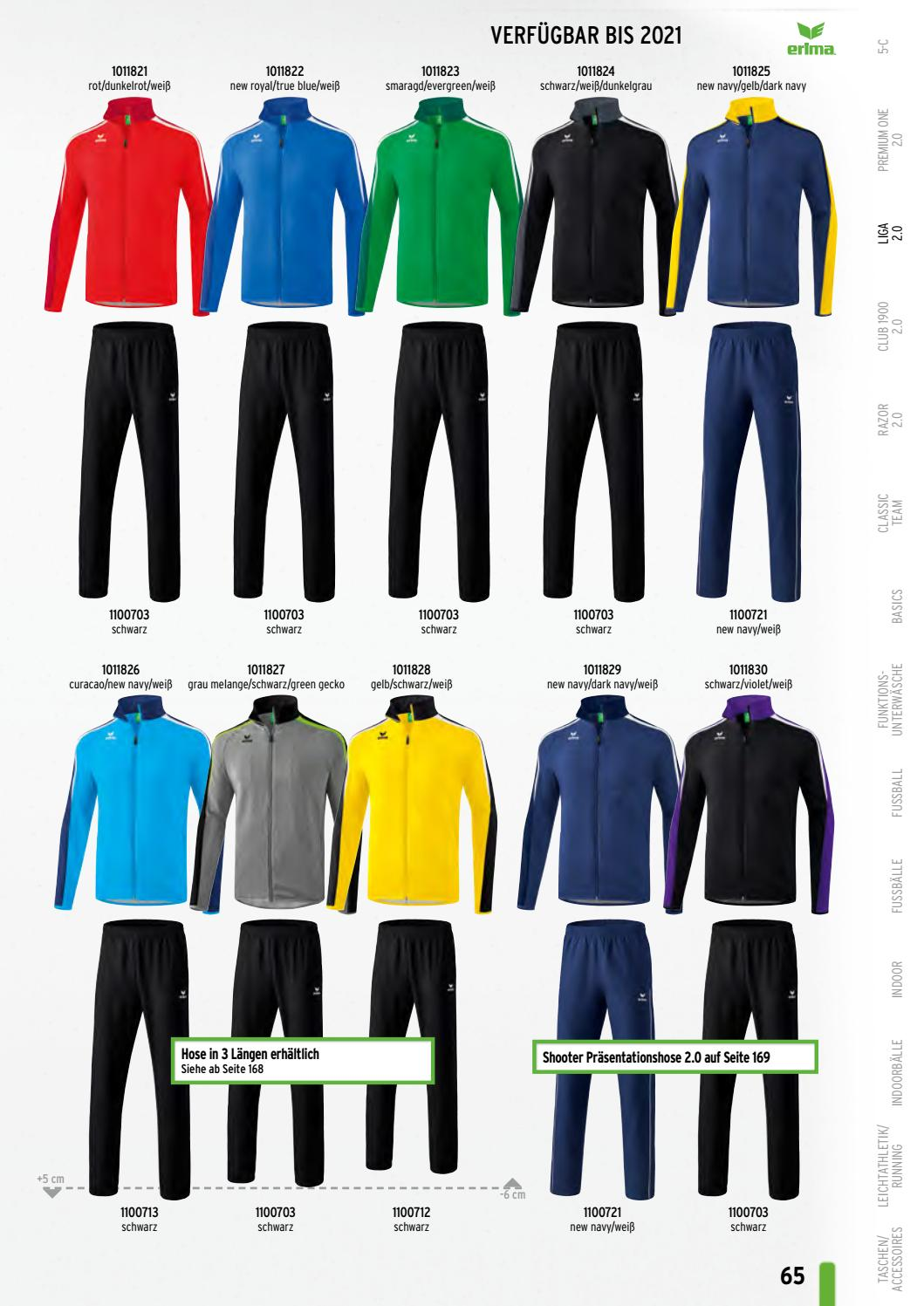 Erima Onlinekatalog 2019 Volleyball Teamwear by