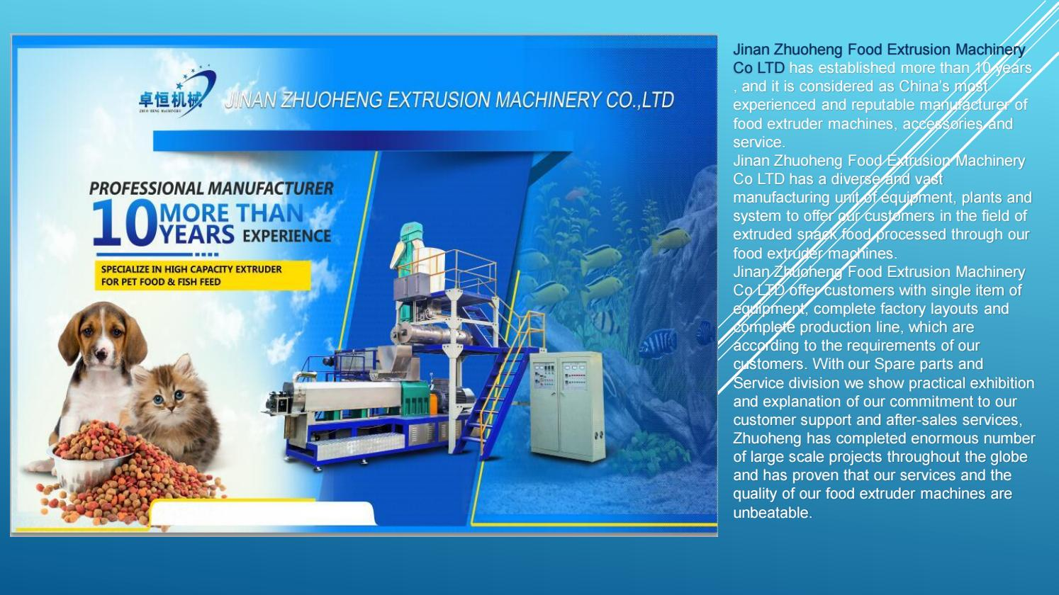 Food Extruder Machines in China by zlpackindustry - issuu