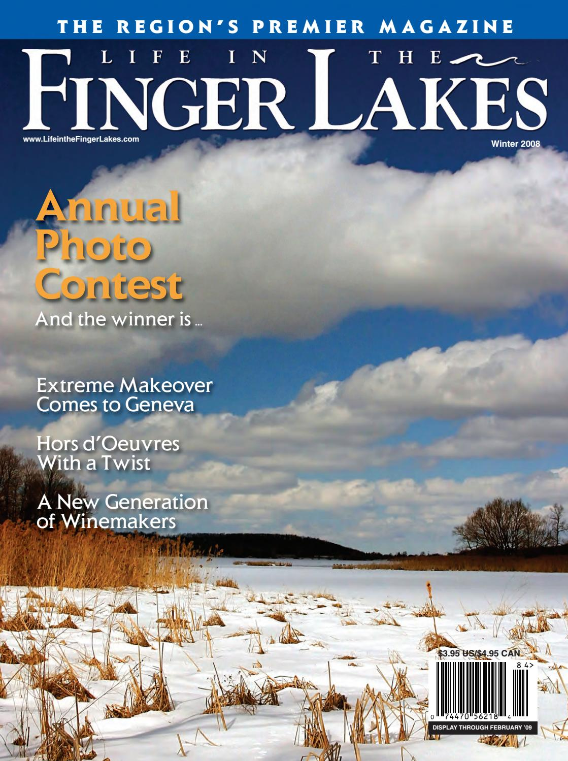 Life in the Finger Lakes Winter 2008 by Fahy Williams
