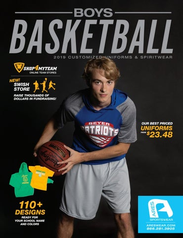 8f8680ab0646 2019 Ares Sportswear Boys Basketball Catalog by Ares Sportswear - issuu