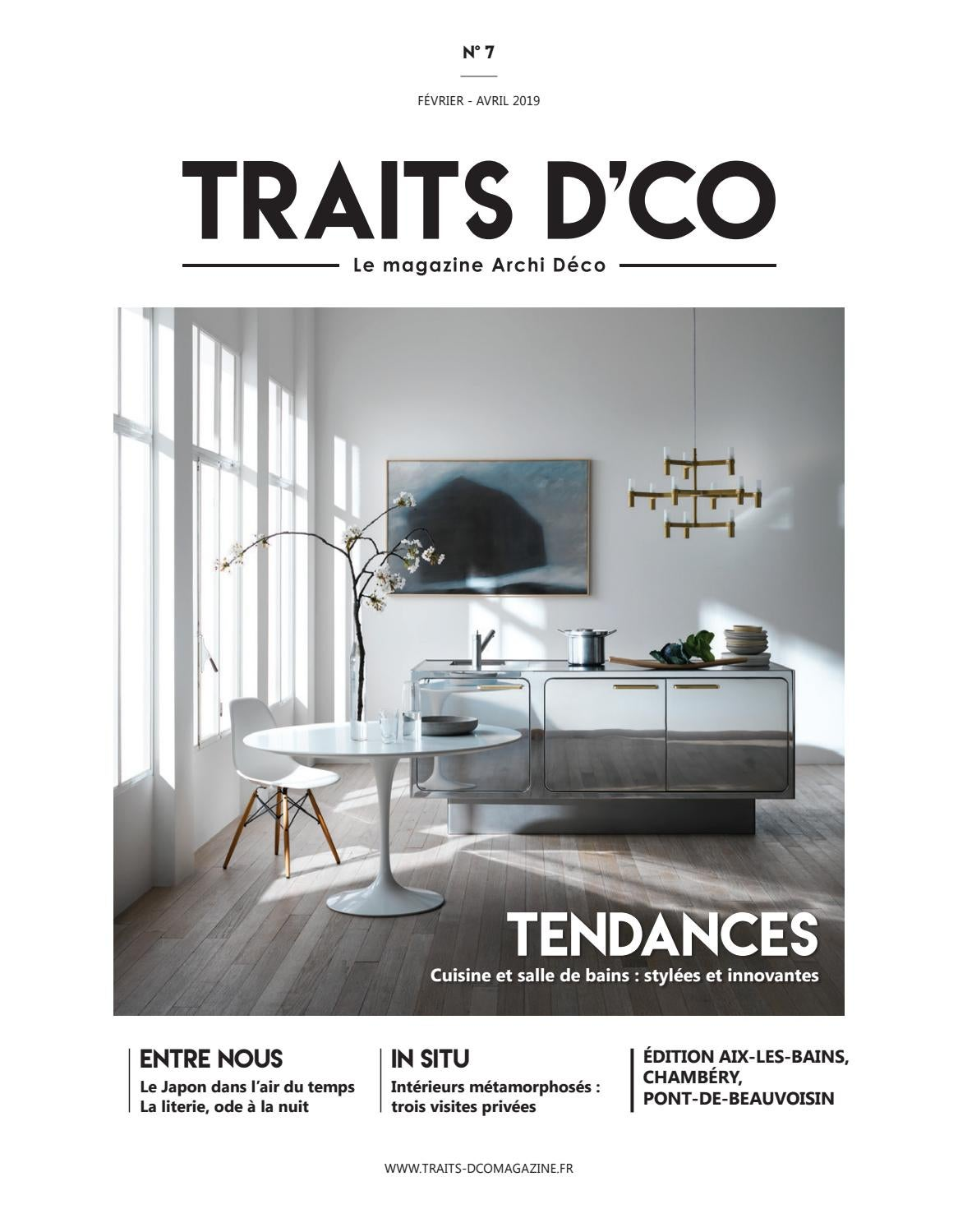 Traits Dco Magazine Aix Les Bains Chambery Pont De