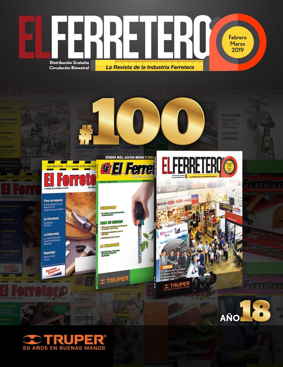 Revista El Ferretero No  100 Febrero – Marzo 2019 by El