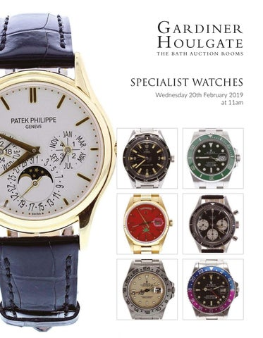 95244da7012f5 Watches of Knightsbridge - Modern   Vintage Timepieces 15th March ...
