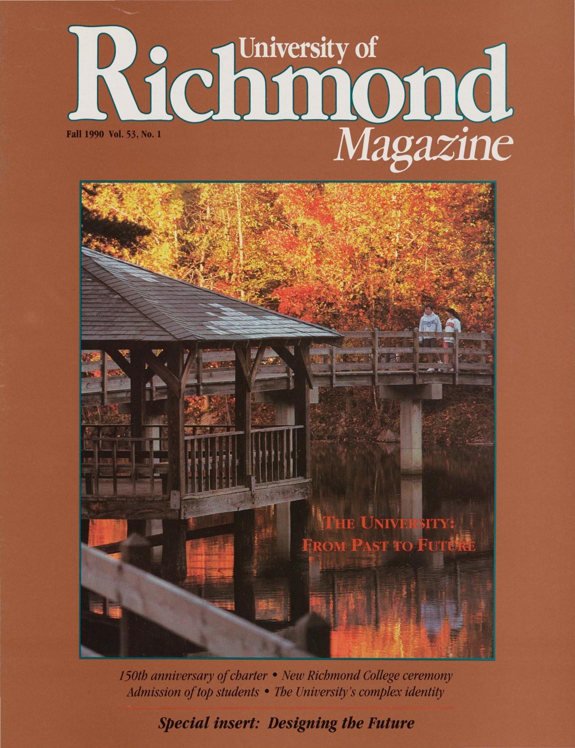 bf197d4361ee5 University of Richmond Magazine Fall 1990 by UR Scholarship Repository -  issuu
