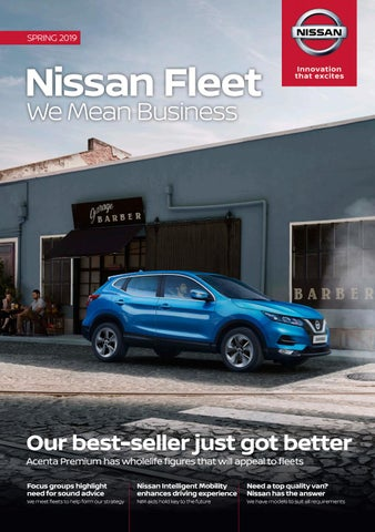 Nissan Fleet: We Mean Business Spring 2019 by Fleet News - issuu