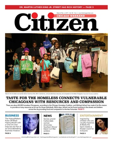 Chicago Weekend 2-06-2019 by CHICAGO CITIZEN NEWSPAPERS - issuu