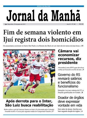 4ac5a8d00a281 Jornal da Manhã - Terça-feira - 22-01-2019 by clicjm - issuu