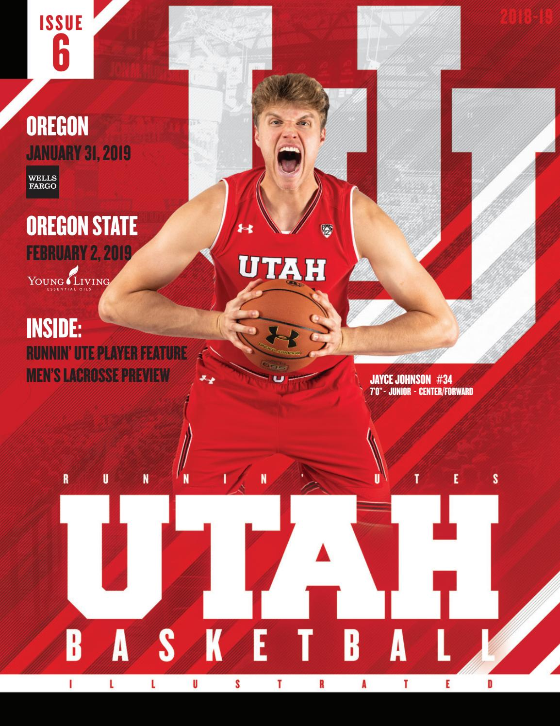 Utah Basketball 2018 19 By Mills Publishing Sports Issuu