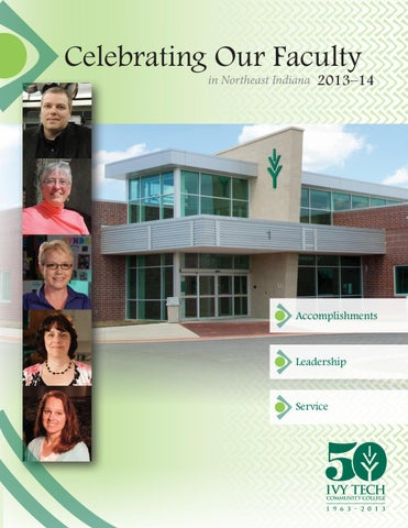 Ivy Tech Celebrating Our Faculty Booklet 2013 14 By Topcontentcreator Issuu