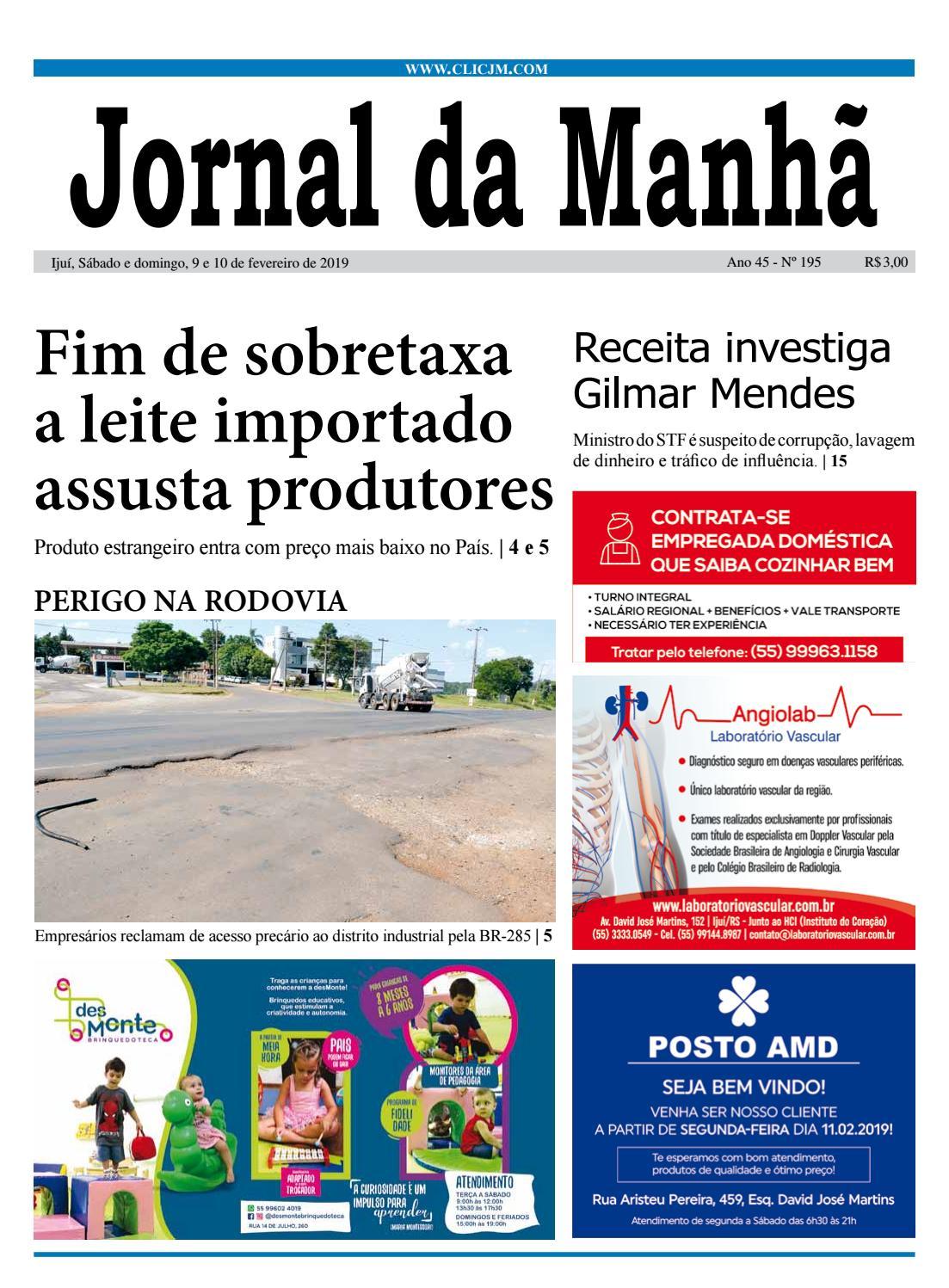 c0dc43509 Jornal da Manhã - Sábado - 09-02-2019 by clicjm - issuu