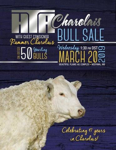 HTA 2019 Bull Sale by Charolais Banner - issuu