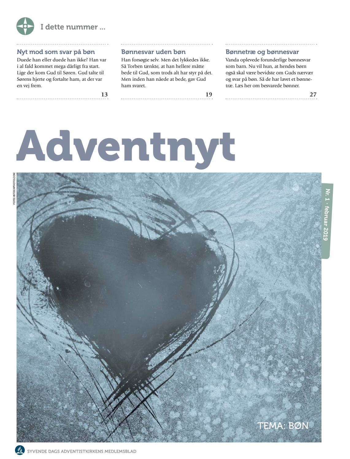 12b493925 Adventnyt 2019-1 by Adventistkirken - issuu