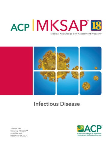 MKSAP 18 Sample Pages - Infectious Disease by American