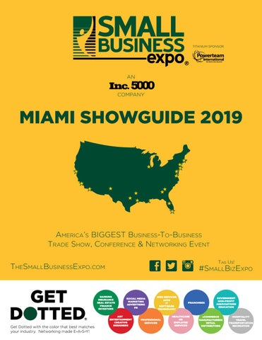Miami Showguide 2019 by Small Business Expo - issuu