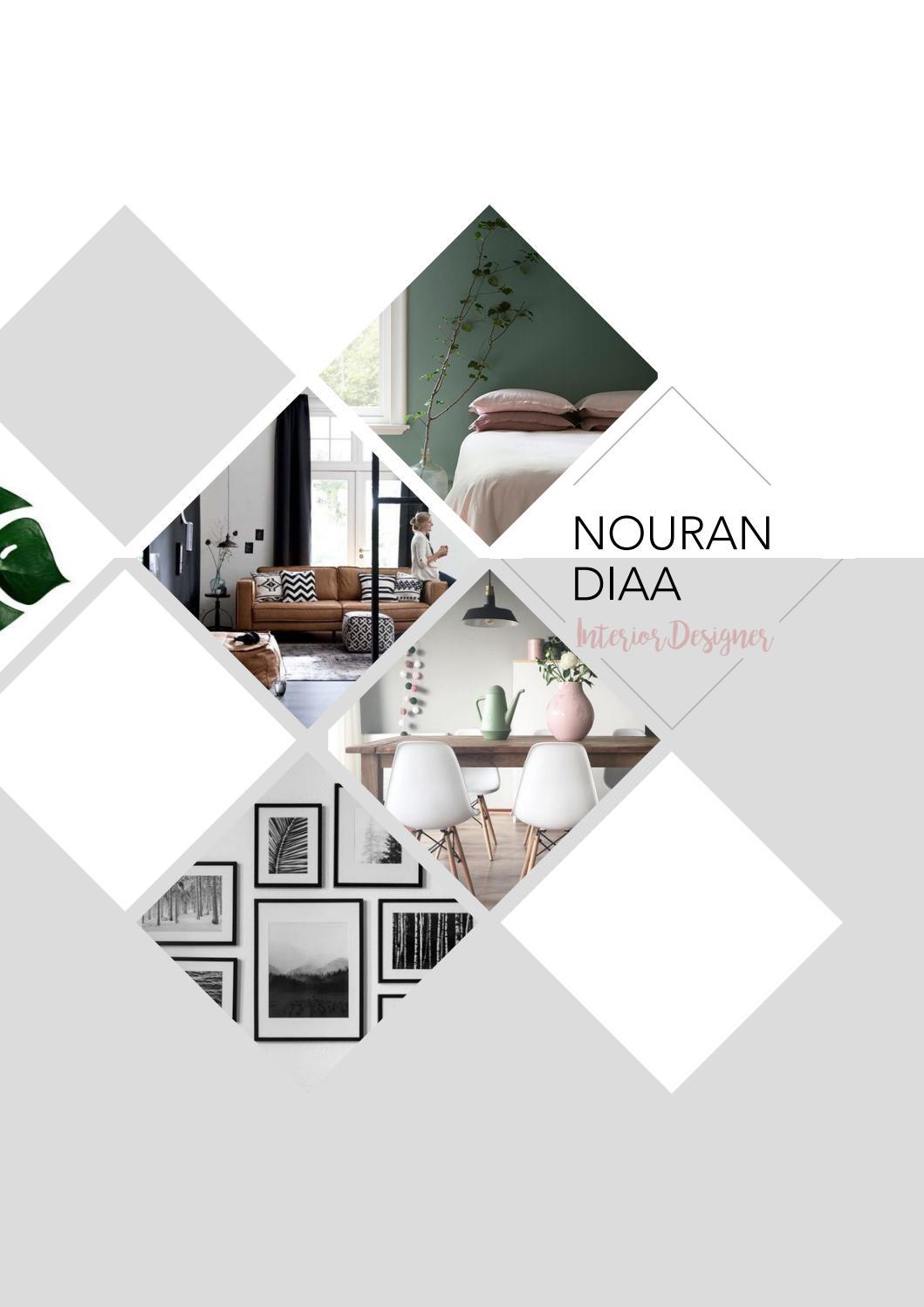Interior Design Portfolio By Nouran Diaa Issuu