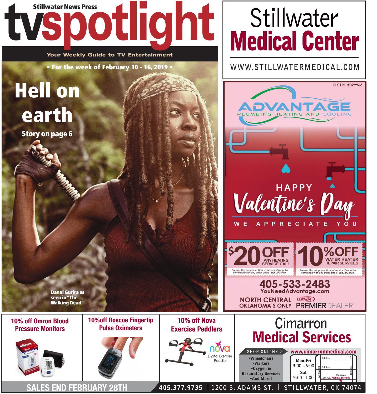 TV Spotlight 02-10-19 by Stillwater News Press - issuu