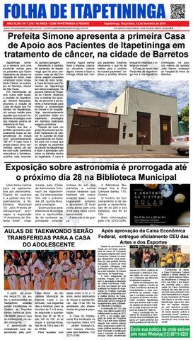 Folha de Itapetininga 12/02/2019 (Terca-feira)